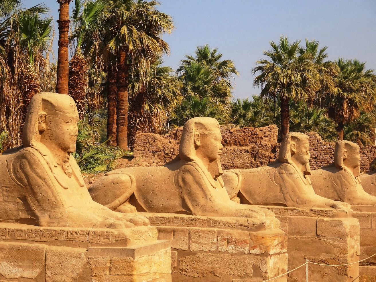 Avenue of the Sphinxes Luxor