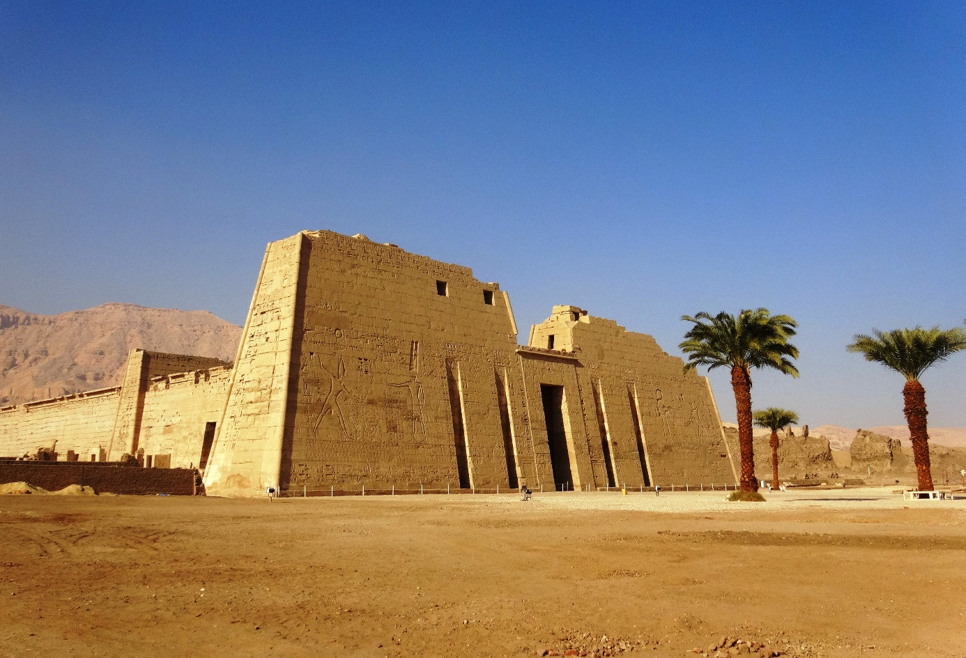 Habu Temple egypt