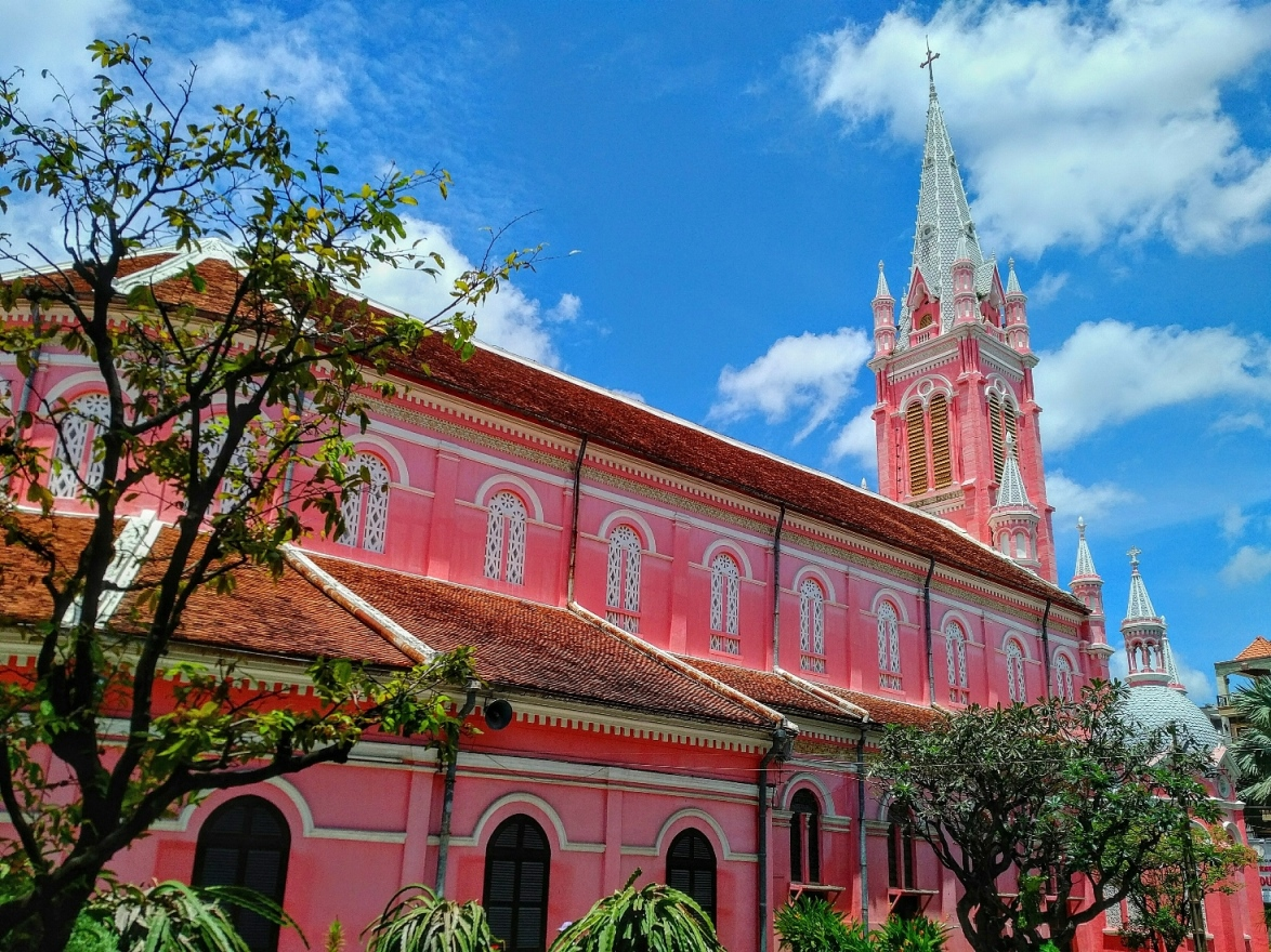 pink church ho chi minh city